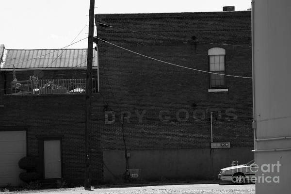 Advertise Art Print featuring the photograph Dry Goods by Alan Look