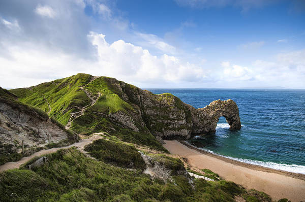 Horizontal Art Print featuring the photograph Durdle Door by Alexander W Helin