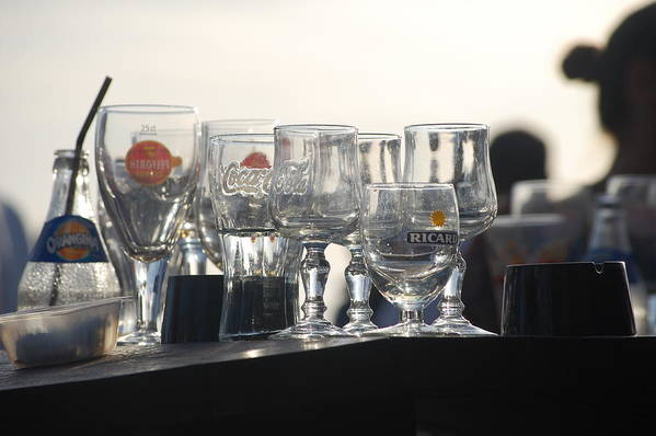 Dickon Art Print featuring the photograph Evening Drinks by Dickon Thompson