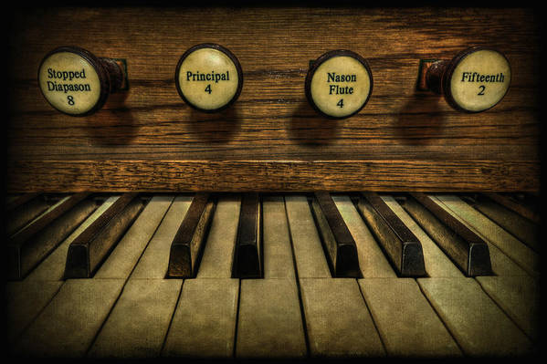 Piano Art Print featuring the photograph Facing The Music by Evelina Kremsdorf