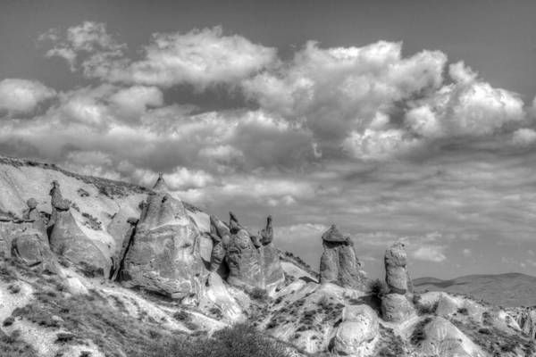 Turkey Art Print featuring the photograph Fairy Chimneys by Angela Julian