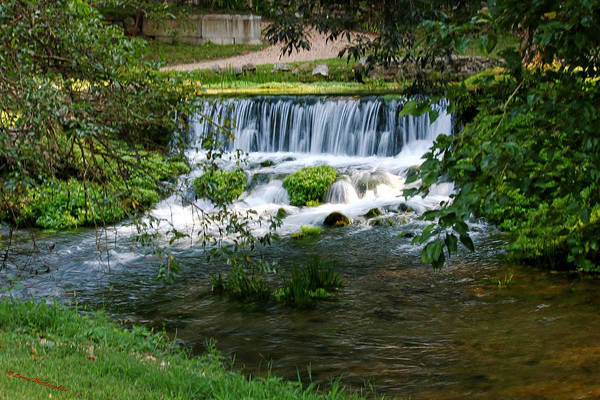 Waterfalls Art Print featuring the photograph Falls by Leroy McLaughlin