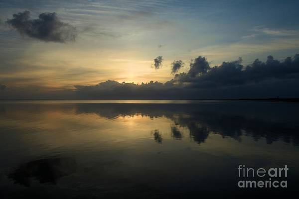 North Carolina Outer Banks Art Print featuring the photograph Fire In The Morning by Adam Jewell