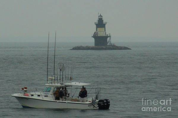 Cloudy Art Print featuring the photograph Fishing Weather by Meandering Photography