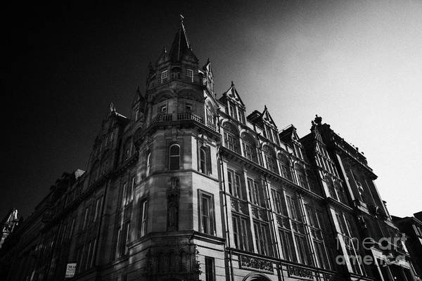 Former Art Print featuring the photograph Former Prudential Assurance Building St Andrew Square Edinburgh Scotland Uk United Kingdom by Joe Fox