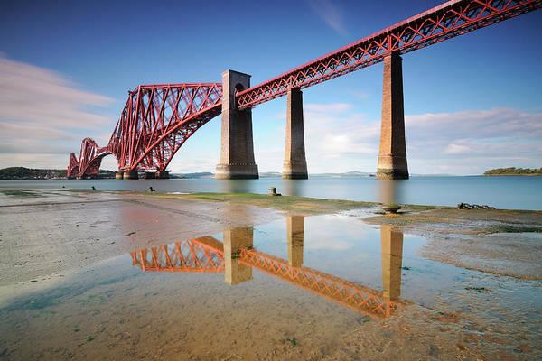 Horizontal Art Print featuring the photograph Forth Rail Bridge by Stu Meech