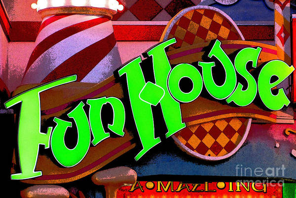 Fun House Art Print featuring the photograph Funhouse by Colleen Kammerer