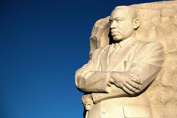 Martin Luther King Jr. Art Print featuring the photograph Genuine Leader by Mitch Cat