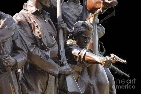 Civil War Art Print featuring the photograph Gettysburg Monument by Cindy Manero