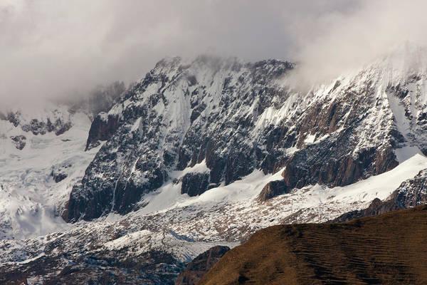 Glacial Art Print featuring the photograph Glacial 01 by Kusi Seminario