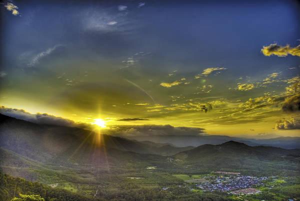 Sun Art Print featuring the photograph Good Morning by Calvin Teh