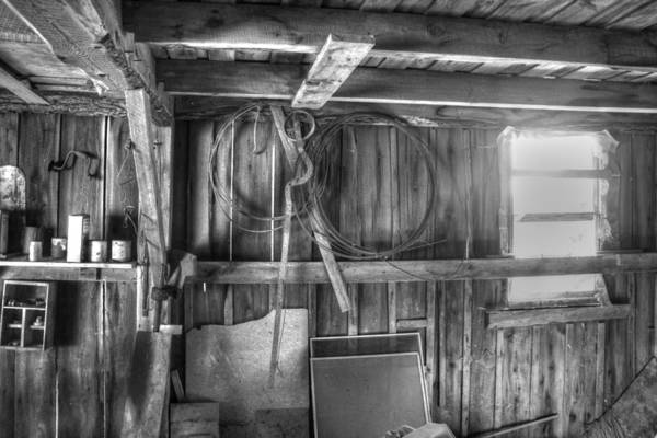 Old Art Print featuring the photograph Grandfathers Barn by Christopher McPhail
