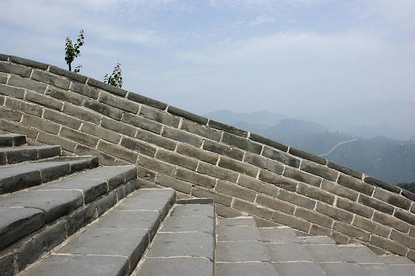 Horizontal Art Print featuring the photograph Great Wall Of China by Britta Wendland
