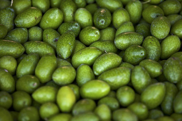 Olives Art Print featuring the photograph Green Olives by Joana Kruse