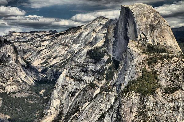Half Dome Art Print featuring the photograph Half Dome by Adam Jewell