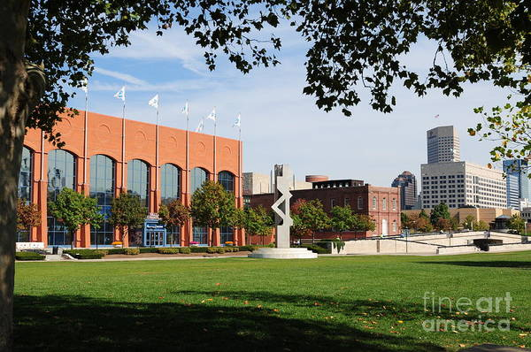Ncaa Art Print featuring the photograph Hall Of Champions by Rob Banayote