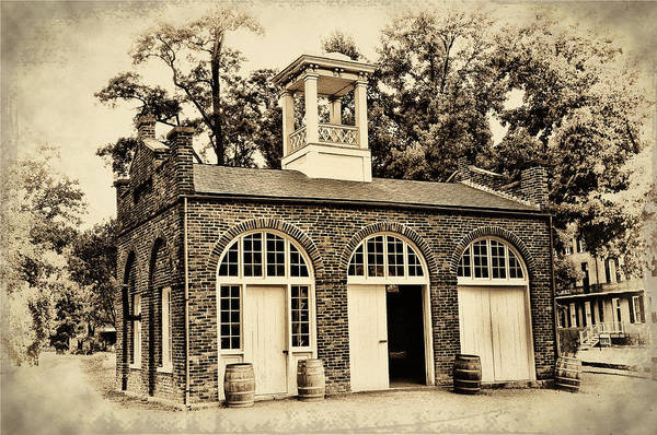 Harpers Ferry Armory Art Print featuring the photograph Harpers Ferry Armory by Bill Cannon