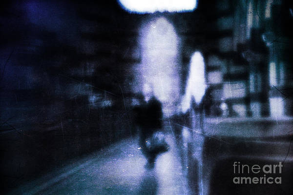Blue Art Print featuring the photograph Haunted by Andrew Paranavitana