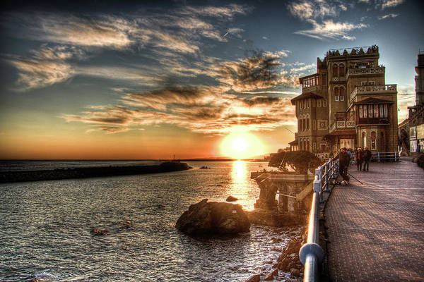 Liguria Art Print featuring the photograph Hdr Fishing by Andrea Barbieri