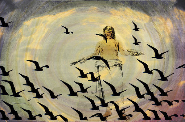 Jesus Art Print featuring the photograph Heaven Sent by Bill Cannon