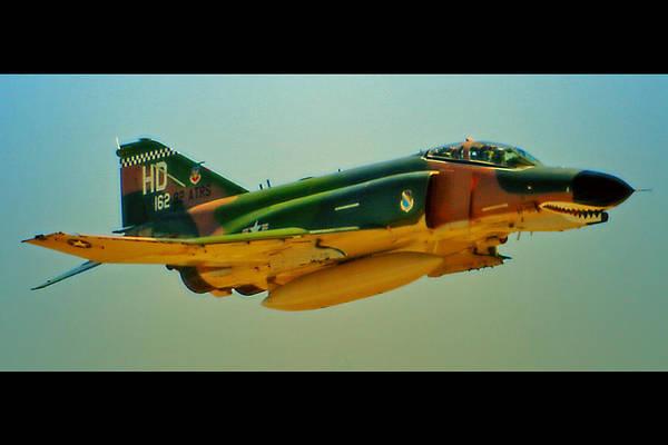 Art Print featuring the photograph Heritage F-4 Phantom by Dan Quam