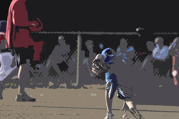 Baseball Art Print featuring the photograph Infield by Peter McIntosh