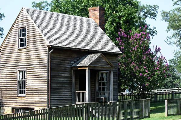 Appomattox Art Print featuring the photograph Jones Law Office Appomattox Court House Virginia by Teresa Mucha