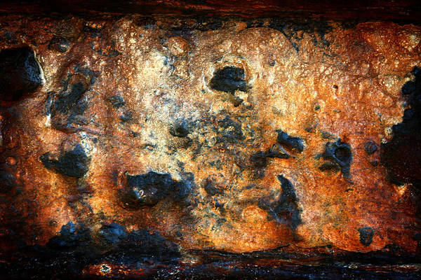 Rust Art Print featuring the photograph Just Rust by Shane Rees