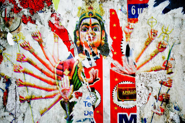 Kali Art Print featuring the photograph Kaliyuga by Dev Gogoi
