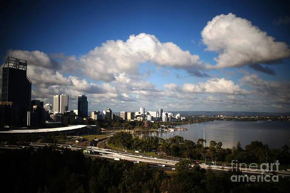 Kings Park Art Print featuring the photograph Kings Park View by Therese Alcorn