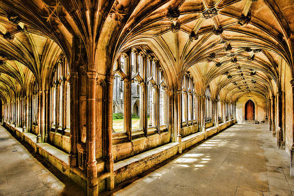Lacock Abbey Art Print featuring the photograph Lacock Abbey by Wendy White