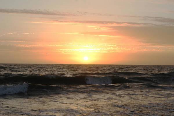Sun Art Print featuring the photograph Late Summer Sunset by Maureen Bates