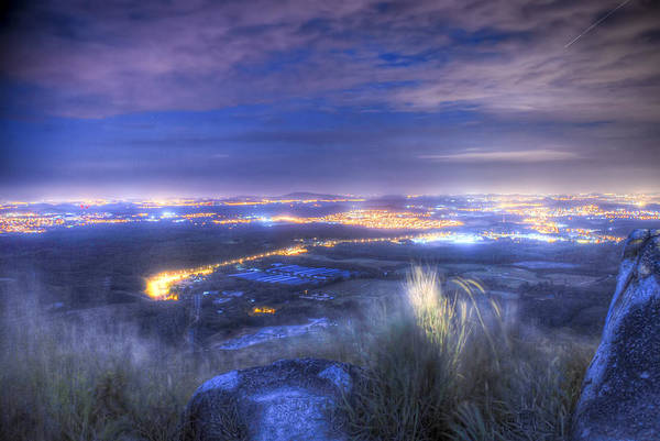 Landscape Art Print featuring the photograph Light Up The Night by Calvin Teh