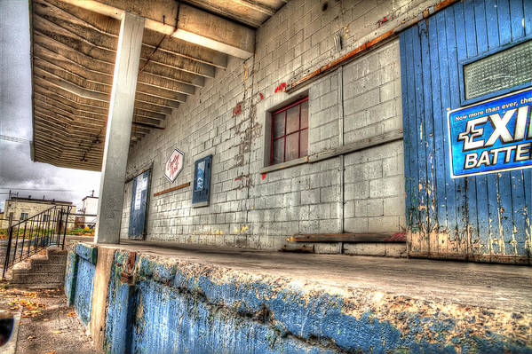 Acrylic Prints Art Print featuring the photograph Loading Dock by John Herzog