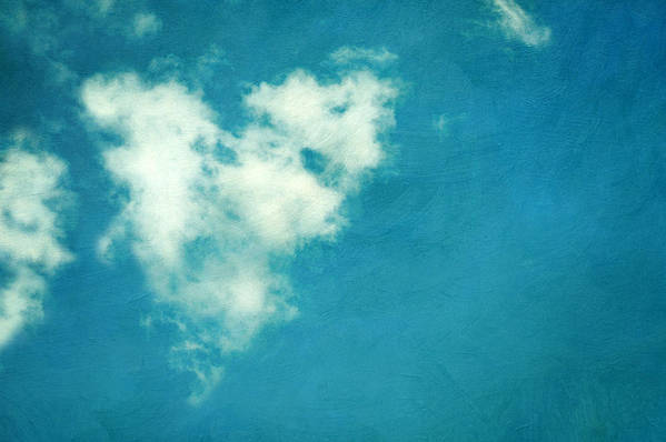 Horizontal Art Print featuring the photograph Love Is In The Air by Kelly Sillaste