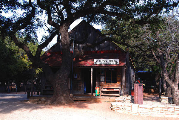 Luckenbach Art Print featuring the photograph Luckenbach Texas - II by Susanne Van Hulst