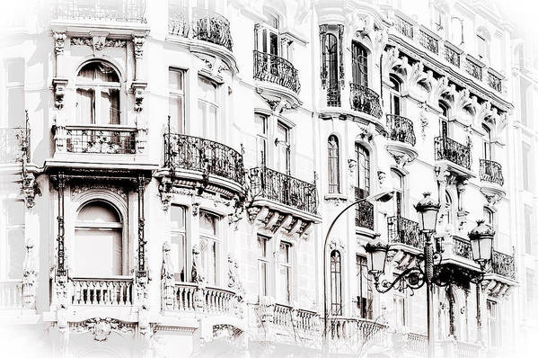 City Art Print featuring the photograph Madrid by Michael Braxenthaler