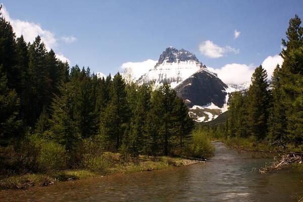 Landscape Art Print featuring the photograph Many Glacier II by Amanda Kiplinger