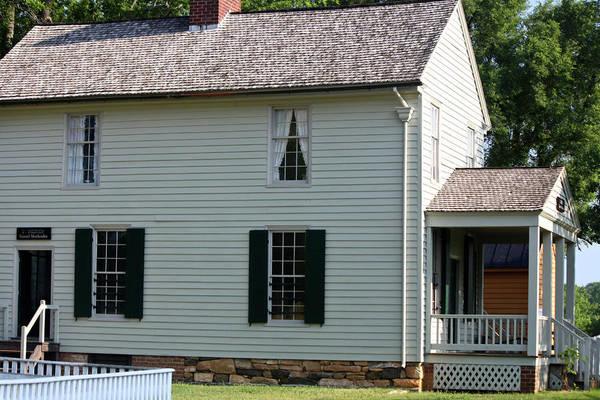 Appomattox Art Print featuring the photograph Meeks Store Appomattox Court House Virginia by Teresa Mucha
