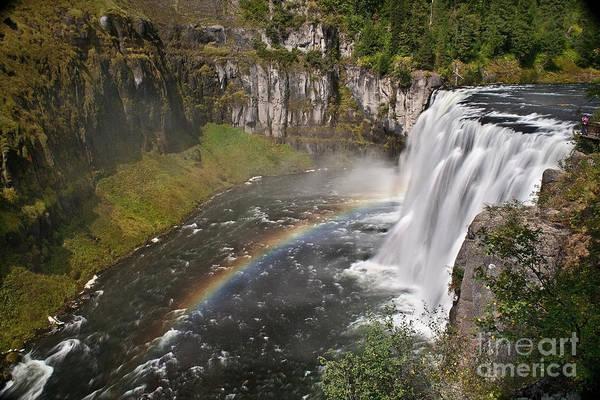 Waterfalls Art Print featuring the photograph Mesa Falls II by Robert Bales