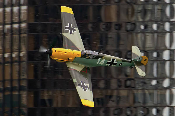 Aircraft Art Print featuring the photograph Messerschmitt by Bill Lindsay