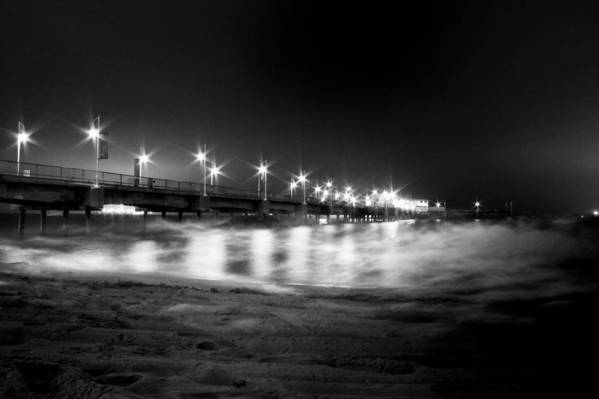 Low Key Art Print featuring the photograph Mid-night Mist by Cesar Ponce