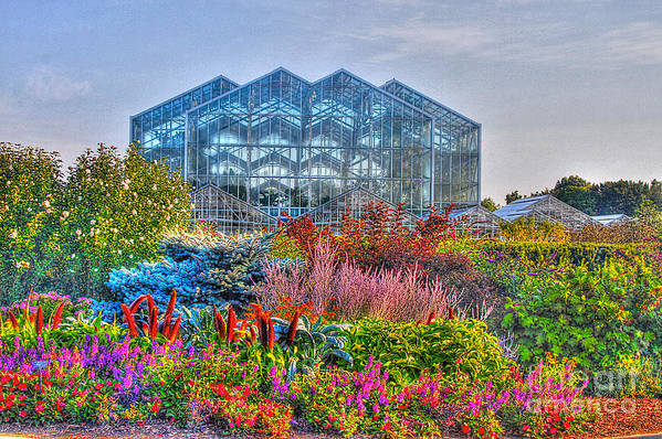 Land Mark Art Print featuring the photograph Miejer Gardens Revisited by Robert Pearson