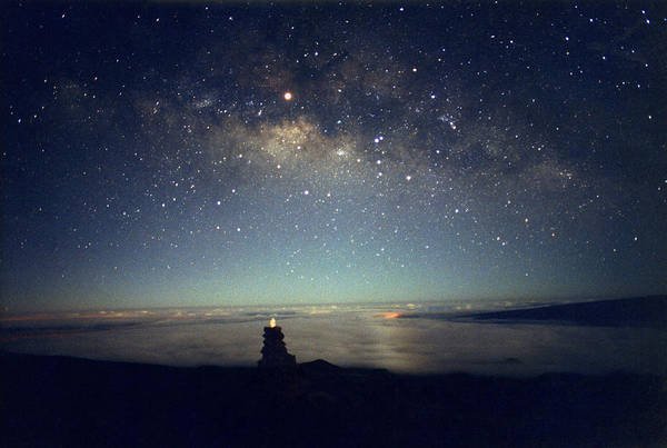 Milky Way Art Print featuring the photograph Milky Way by Magrath Photography