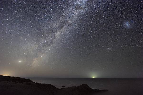 Milky Way Art Print featuring the photograph Milky Way Over Flinders, Australia by Alex Cherney, Terrastro.com