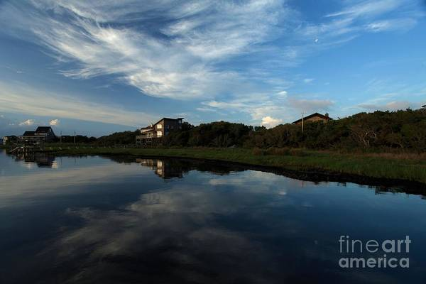 North Carolina Outer Banks Art Print featuring the photograph Mirror At Theshore by Adam Jewell