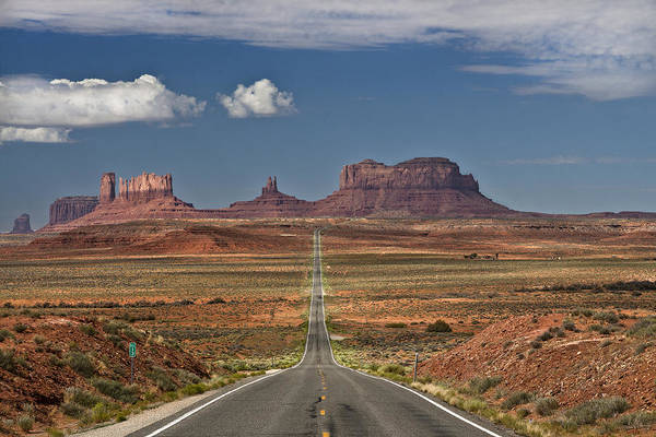 Horizontal Art Print featuring the photograph Monument Valley by Axel Rosenberg