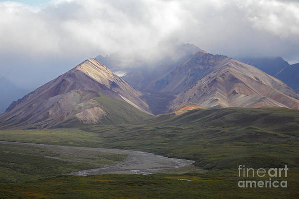 Denali National Park Art Print featuring the photograph Moods Of Denali by Gary Suddath