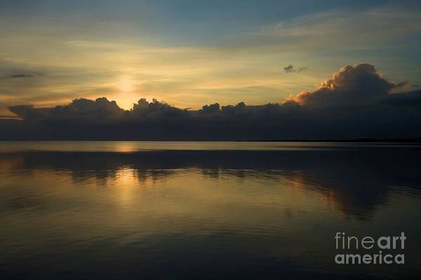 North Carolina Outer Banks Art Print featuring the photograph Morning Reflections by Adam Jewell