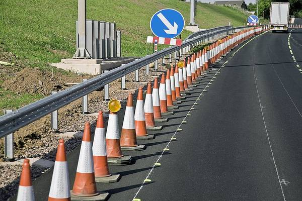 Equipment Art Print featuring the photograph Motorway Traffic Cones by Linda Wright